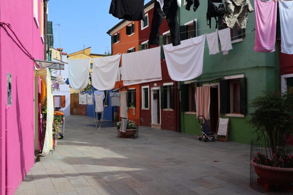 het kleurrijke burano